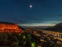 Schloss Heidelberg von Manfred Heß