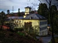 Schloss Heiligenberg in Seeheim-Jugenheim von Gerhard Lahres
