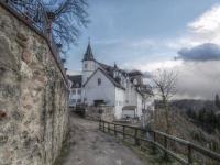 Schloss Schönberg in Bensheim von Gerhard Lahres
