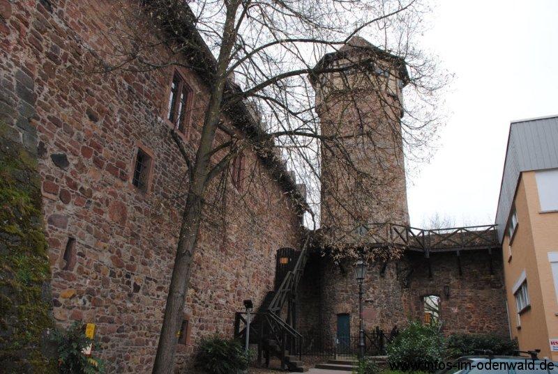 Michelstadt im Odenwald Diebesturm