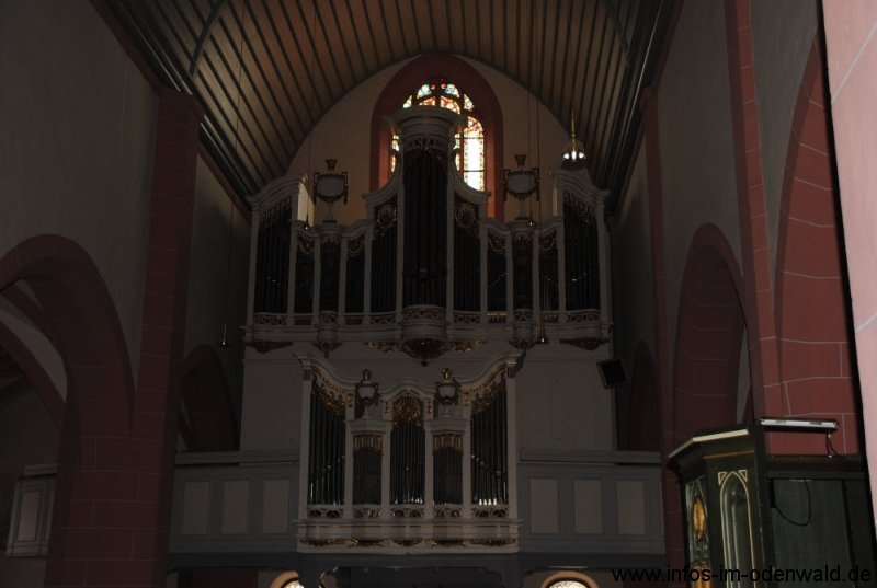 Michelstadt im Odenwald Stadtkirche