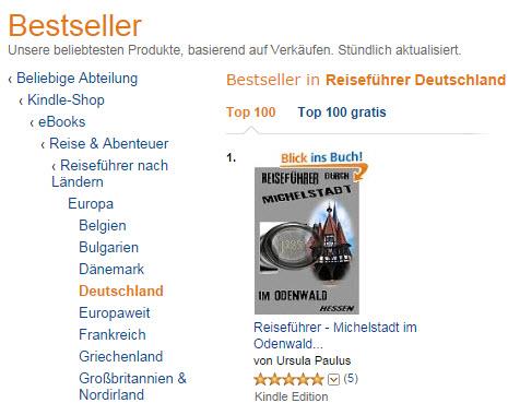 Bestseller Reise
