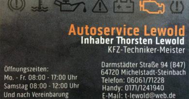 Autoservice Lewold Michelstadt