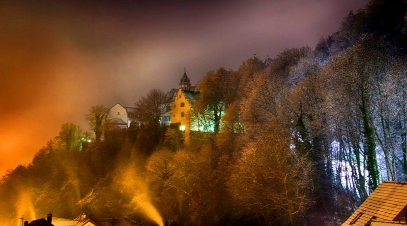 Schloss Schönberg bei Bensheimvon Gert Kropp