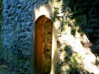 Lindenfels Pforte am Torturm der Vorburg zum Ellenbacher Tor hin von Hartwig Hirte Ofs